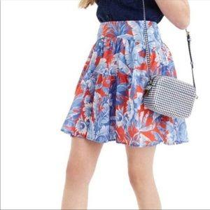 J. Crew NWOT Floral A-Line Skirt
